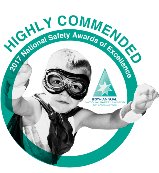 Highly Commended - National Safety Awards of Excellence 2017
