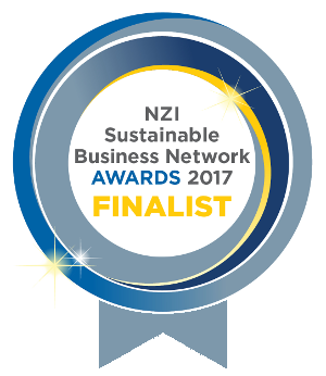 Finalist - NZI Sustainable Business Network Awards 2017